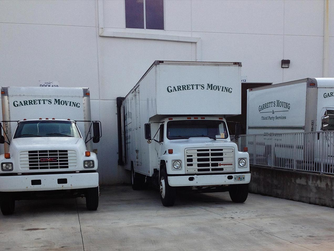 3 Trucks | Garrett's Moving & Third Party Service