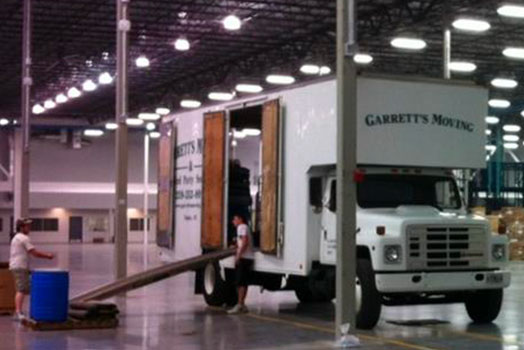 Commercial Moving | Garrett's Moving & Third Party Service