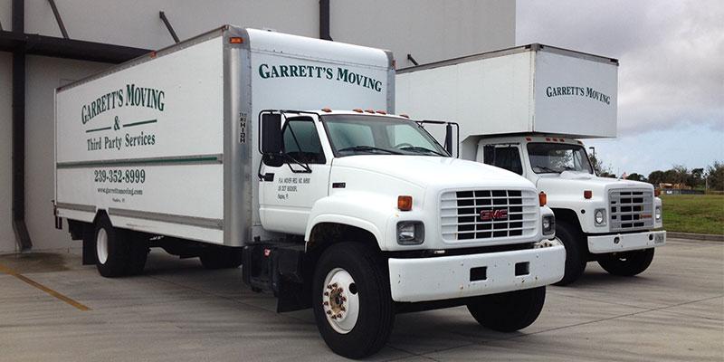 Garretts Trucks | Garrett's Moving & Third Party Service